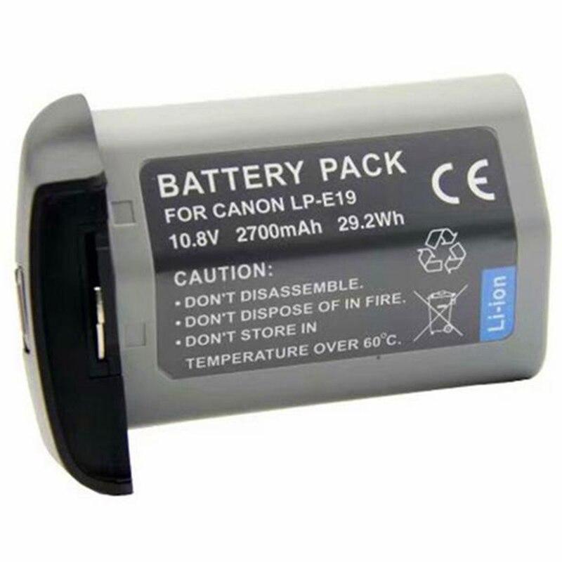 Batterie au Lithium pour Canon-1Dx 1Dx Mark2 Mark3 Mark4 1Ds appareil photo reflex Lp-E19 batterie au Lithium batterie Rechargeable appareil photo