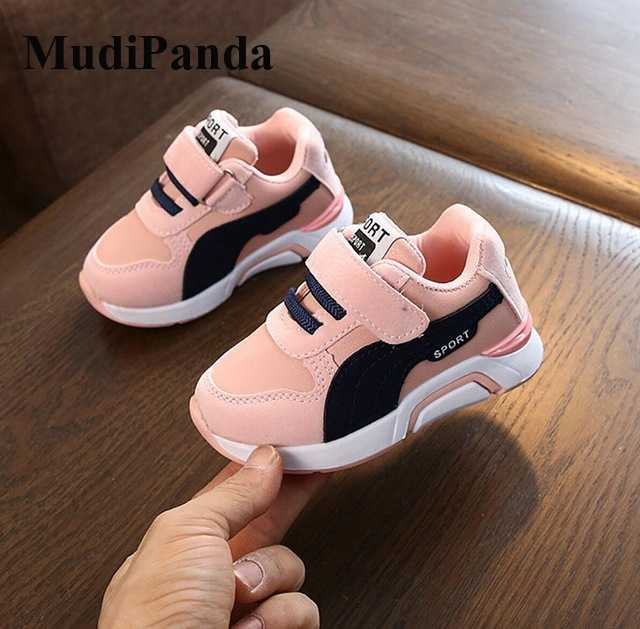 Baby Toddler Boys Girls Sport White Shoes Sneaker 1-6 Years Old Kids Fashion Solid Casual Sneaker Walking Shoes