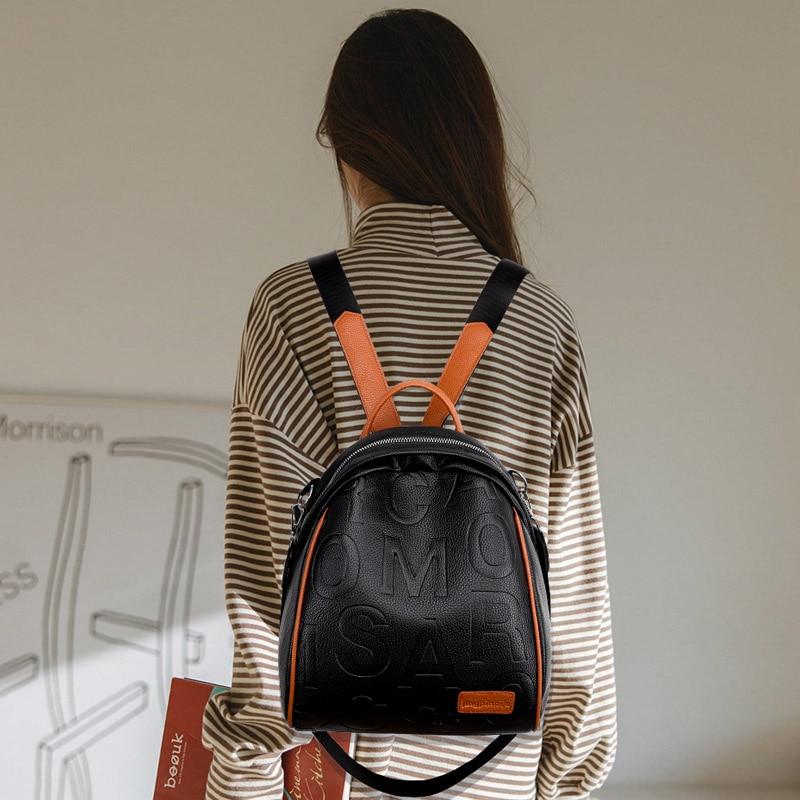 novo couro do plutônio viagem bolsas femininas