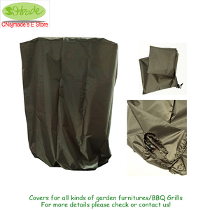 Image 3 - Black color BBQ cover 72x52x110H, waterproofed,dust proofed Barbecue Grill cover ,BBQ grill protective cover,CNSJMADE