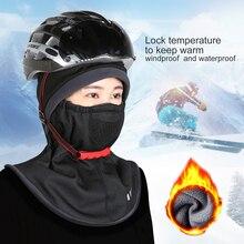 WoSporT Black Winter Ski Mask Full Face Mask Thermal Warmer Cycling Hood Sports Ski Bike Riding Windproof Headgear