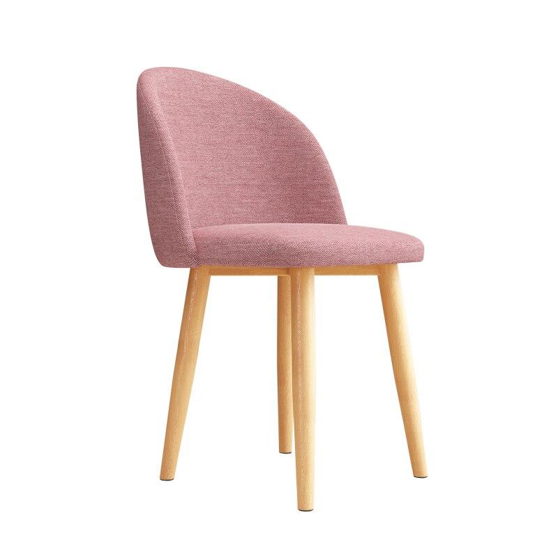 Nail Chair Dressing Chair Nordic Light Luxury Dining Chair Household Iron Dressing Chair Leisure Stool Back Chair Desk Chair