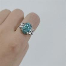 FFLACELL 2020 Neue Design Mode Elegante Vintage Zarten farbe Intarsien Opal Stein Ring für Frauen Mädchen Geschenk Partei Schmuck