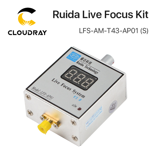 Cloudray LFS AM T43 AP01 (s) ruida 金属切削ライブフォーカスシステムアンプとアンプ場合は回線の接続レーザ加工機