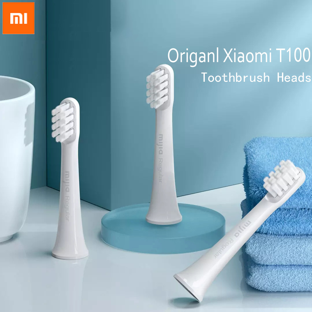 Xiaomi Original T100 Toothbrush Replacement Teeth Brush Heads Mijia T100 Electric Oral Deep Cleaning sonicare Toothbrush Heads image