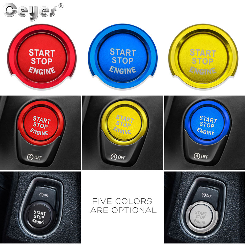 Image 5 - Ceyes For Bmw F20 F21 F30 F31 F10 Car Styling Stickers Engine Start Stop Button Rings Covers Case Decoration Switch Accessories-in Car Tax Disc Holders from Automobiles & Motorcycles