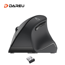DAREU LM108G 2.4Ghz Wireless Vertical Mouse 6 button 1600 DPI Ergonomic skin type Mice For PC Laptop Computer Office
