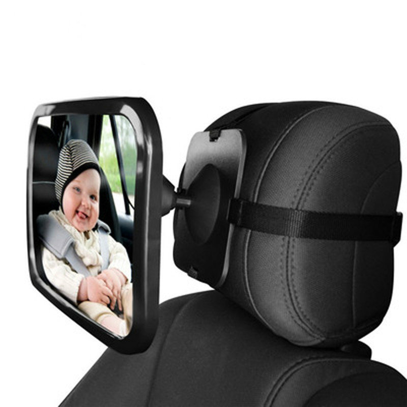 Baby Car Safety Rearview Rear Facing Mirrors Adjustable Basket Rearview Infants Spiegel Rear Ward View Auto Interior Mirrors