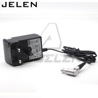 110V to 12V adapter 0b 4 pin Vaxis Wireless image transmission 4pin power cable