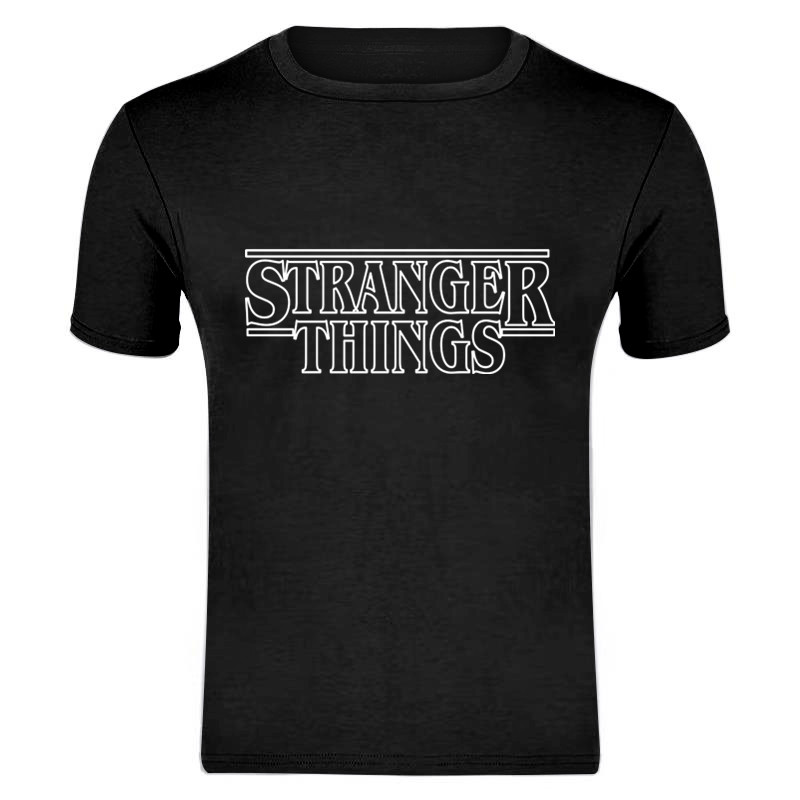 STRANGER THINGS Mens T-Shirts Summer Cotton Short Sleeve T Shirts 2019 New Casual Tee Shirts Male T Shirt S-XXXL
