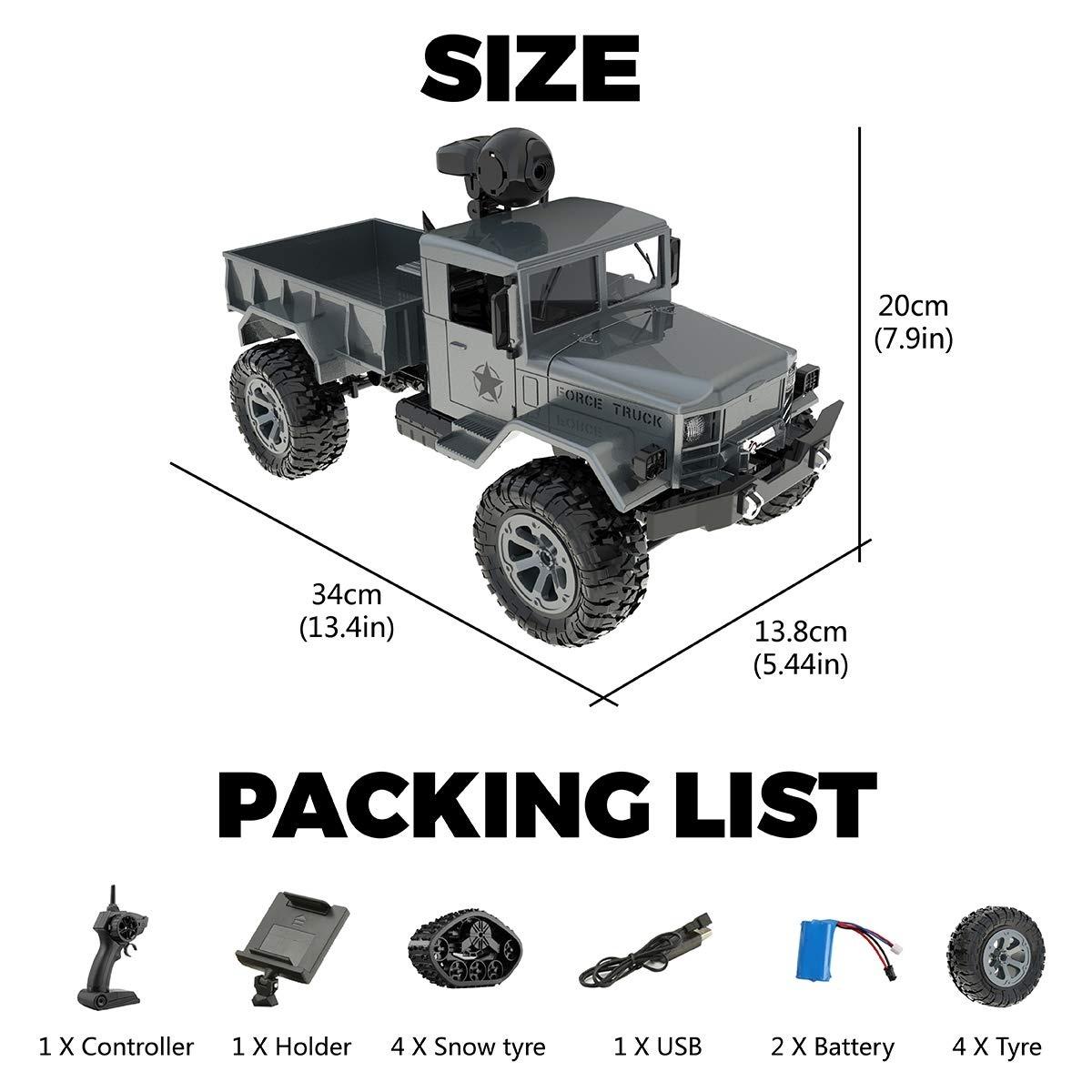 Crawler Car Truck Military 13