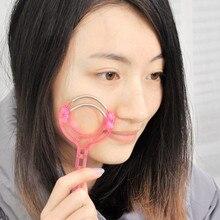Горячее предложение! пластиковый ролик для удаления волос на лице, безболезненный инструмент для удаления волос на лице для женщин, ручной эпилятор для красоты