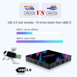 Image 5 - صندوق التلفزيون الذكي H96 MAX RK3318 4غ ب 32 غ ب 64 غ ب بنظام أندرويد 9.09, مجموعة تلفزيون الأندرويد 2 غ ب 16 غ ب مشغل وسائط يوتيوب 4K