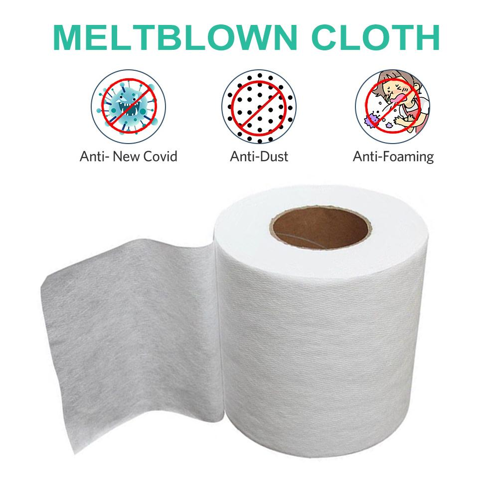Disposable Meltblown Cloth Meltblown Nonwoven Mask Filter Fabric For Mask Filtering Layer Application