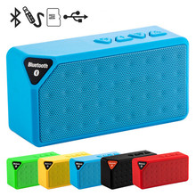 Mini Altoparlante Senza Fili di Bluetooth Portatile di Musica Sound Box Altoparlanti Subwoofer con Il Mic di TF di Sostegno USB