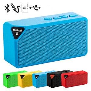 Image 1 - Mini Bluetooth Lautsprecher Drahtlose Tragbare Musik Sound Box Subwoofer Lautsprecher mit Mic Unterstützung TF USB