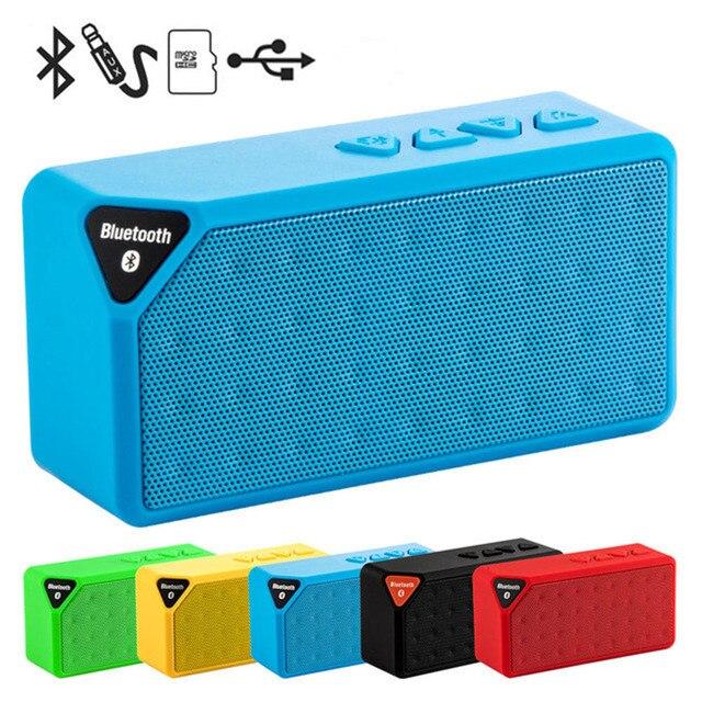 Mini Bluetooth רמקול אלחוטי נייד מוסיקה צליל תיבת סאב רמקולים עם מיקרופון תמיכה TF USB