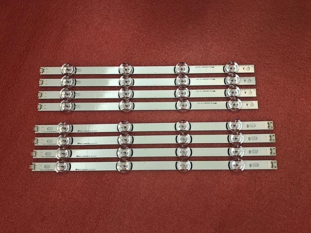 Nowy 8 sztuk/zestaw podświetlenie LED strip dla LG 42LB5610 42LB 42LF561V INNOTEK DRT 3.0 42 cal A/B 6916L 1709B 1710B 6916L 1956C 1957C w Części zamienne i akcesoria od Elektronika użytkowa na  Grupa 1