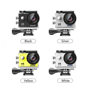 """Image 4 - Ultra HD 4K WiFi Action cam with 2.4G Remote Control 2.0"""" screen 30M waterproof sport mini cam"""