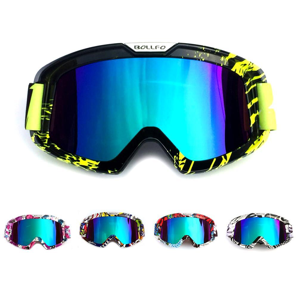 Ski Goggles Double Layer Polarized Lens Skiing Fashion Colorful Anti-fog Snowboard Goggle Men Women Ski Glasses Anti-wear