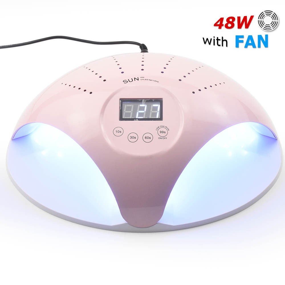 SunX 54W/48W Dual UV LED Nail Lamp Dryer 36 LEDs Nail dryer for All Gels 30s/60s button All for manicure Nail Lamp For Nails|Nail Dryers|   - AliExpress