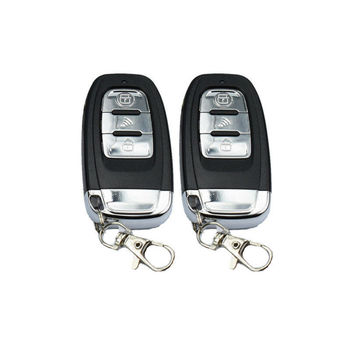 Car Remote Engine Start Stop Alarm System Passive Keyless Entry Push Buttons Kit Remote Controls 433MHZ 20A