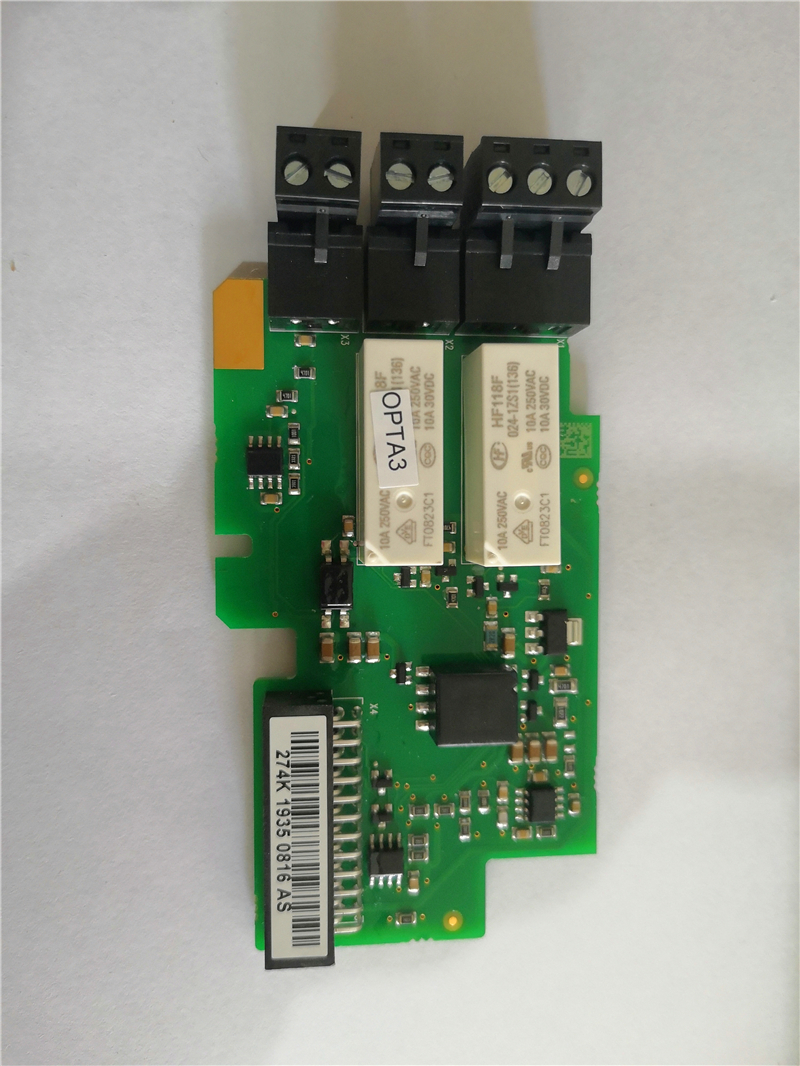 New Orignal OPTA3 Finland Brand Crane Inverter Hoist Control Unit Relay Thermister Board V0034606 D2V-NXOPTA3 Board