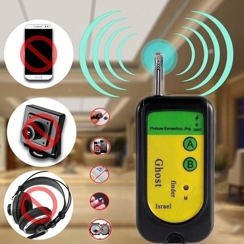Anti Candid Camera Detector IP Lens GMS RF Signal Detection Finder All-Round Detectors For Hidden Mini Cameras Protect Privacy
