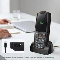 AGM M7/M6 cargador inalámbrico soporte escritorio carga estación Dock Android tipo C Cable USB certificado CE cargador rápido para teléfono móvil