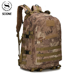 Image 1 - 1000D Nylon 40L Backpack For Men Women Camouflage Army Bags Mochila Militar Bags Casual Travel Waterproof Bags