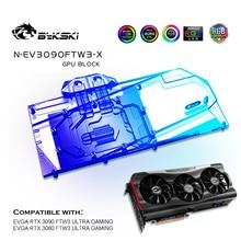 Water-Block Graphics-Card Bykski-Gpu Vga Cooler FTW3 N-EV3090FTW3-X Ultra-Gaming EVGA