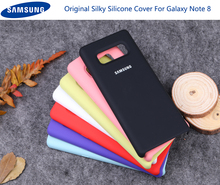 Samsung note 8 Case Original Soft Silicone Protector Galaxy Note Case+shockproof+100% original baby skin