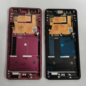 Image 2 - Azqqlbw  Used Frame For HTC U12+ U12 Plus  Front Housing Middle Frame With Pressure Sensor Flex Cable replacment repair Parts