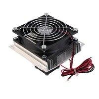 Kit de disipador térmico del sistema del ventilador del refrigerador de refrigeración Peltier termoeléctrico|Accesorios y piezas para instrumentos|   -