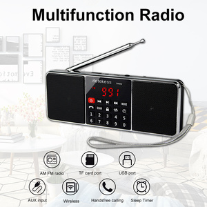 Image 2 - RETEKESS TR602 디지털 휴대용 AM FM 라디오 블루투스 스피커 AUX 스테레오 MP3 플레이어 TF/SD 카드 수면 타이머 USB 드라이브 LED 디스플레이