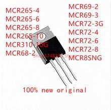 10PCS MCR265-4 MCR265-6 MCR265-8 MCR265-10 MCR310-10G MCR68-2 MCR69-2 MCR69-3 MCR72-3G MCR72-4 MCR72-6 MCR72-8 MCR8SNG TO-220