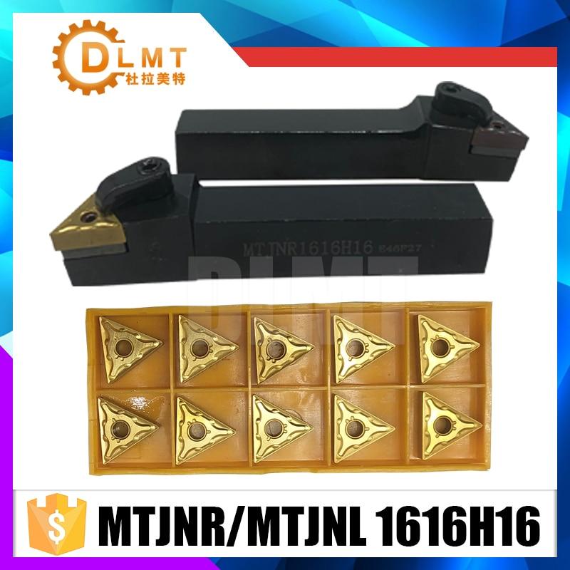 External Grooving Turning Lathe Bar MTJNR1616H16 MTJNL1616H16 Tool Holder Set
