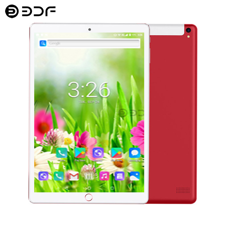 10.1 Inch Tablet PC Android 7.0 Octa Core 3G/4G Phone Call Wi-Fi 6GB\128GB Smart Phone Wi-Fi Google IPS Tablet PC+Keyboard