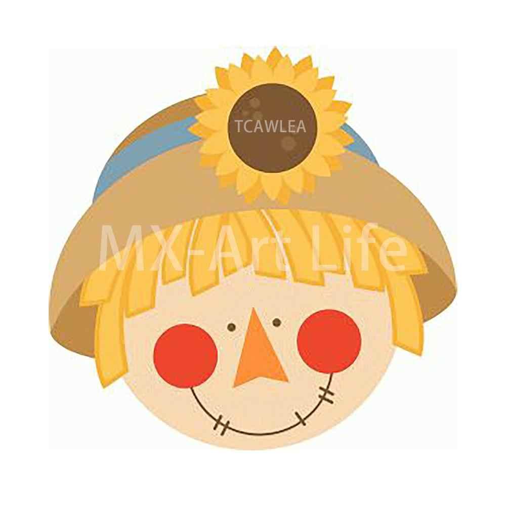 2020 nowe wykrojniki Scarecrow wdzięczne matryce