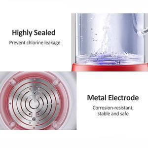 Image 3 - Machine de désinfectant de leau dacide hypochloré de 1.2L générateur hypochloré de Sodium Machine de désinfectant domestique saine