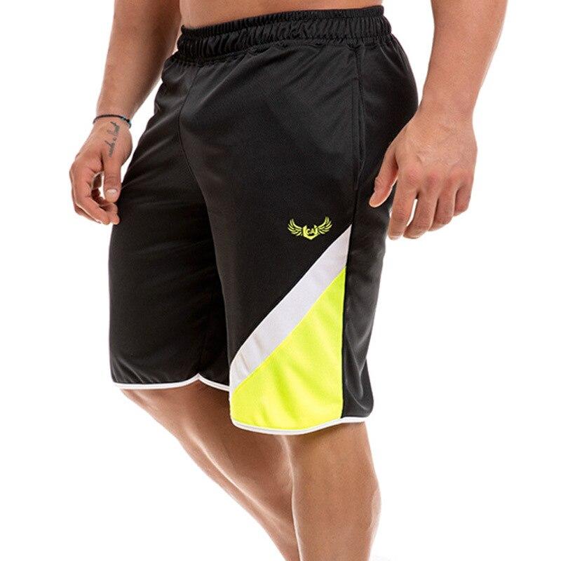 New summer fashion men's sports beach pants shorts mesh sports pants fitness short jogging casual gym men's shorts