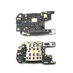 Uchwyt czytnika kart SIM/SD z mikrofonem Flex Cable dla Huawei P30 Pro