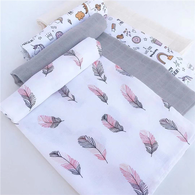 120cm*110cm Blanket Muslin Swaddle Baby Cotton Baby Swaddles Blanket Baby Muslin Blanket 120 Muslin Diaper