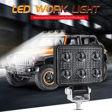 3 дюймовый телефон 6 светодиодов 18 Вт прожектор для грузовиков