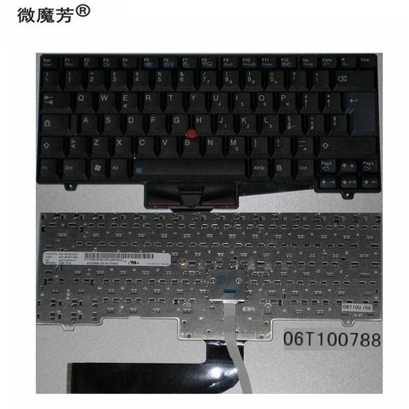 Keyboard Italian IT FOR Lenovo SL410 SL410K SL510 L410 L412 L420 L421 L510 L512 L520 06T100788 06E01E 45N2265 45N2300