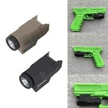Тактический фонарик для оружия apl c свет мини пистолет постоянной/Мгновенный/Строб