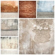 Laeacco 초라한 벽돌 벽 배경 Grunge 초상화 비닐 사진 배경 생일 Photophone 사진 스튜디오 Photocall