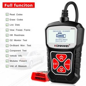 Image 2 - KONNWEI KW310 OBD2 Scanner für Auto OBD 2 Auto Scanner Diagnose Werkzeug Automotive Scanner Auto Werkzeuge Russische Sprache PK Elm327