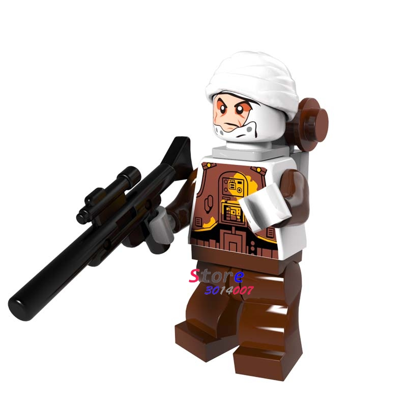 Single The Grand Inquisitor Super Hero Ewok Dengar Bounty Hunter Building Blocks Models Bricks Toys For Children Kits