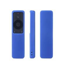Bluetooth Wifi смарт силиконовый защитный пульт дистанционного управления Чехлы для Xiao mi 4A mi tv Защитный Силиконовый противоударный чехол в виде ракушки